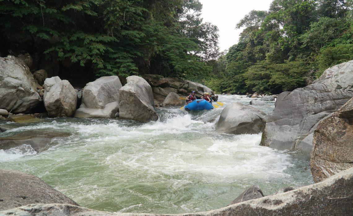 big rapid rio calderas