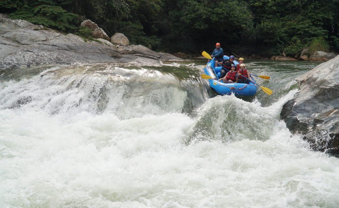 big rapid fun rafting