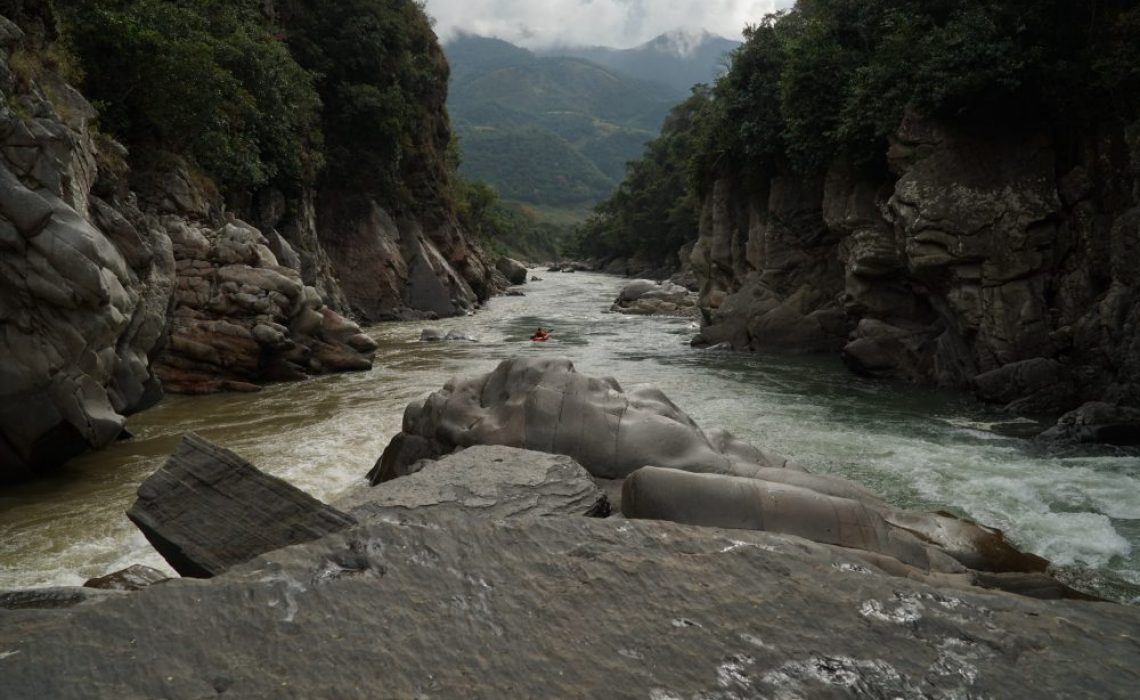 confluence river colombia