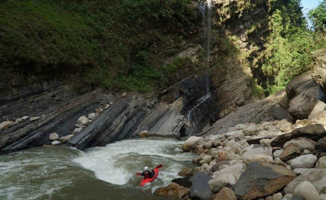 canyon river kayak