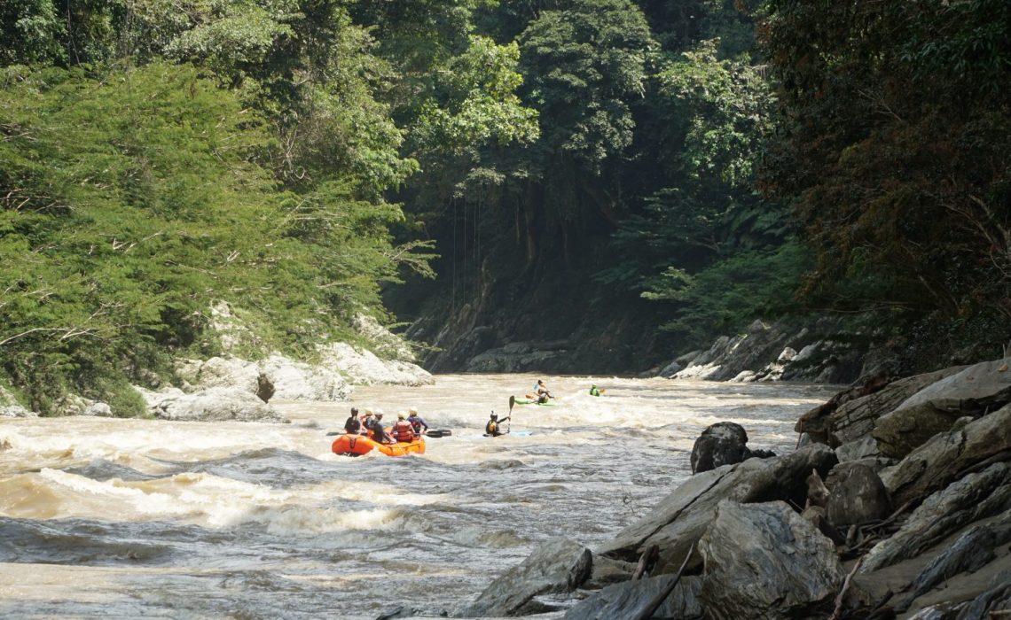 jungle rafting adventure