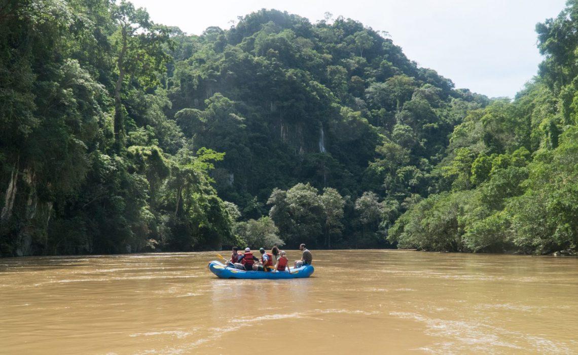 rio samana jungle rafting