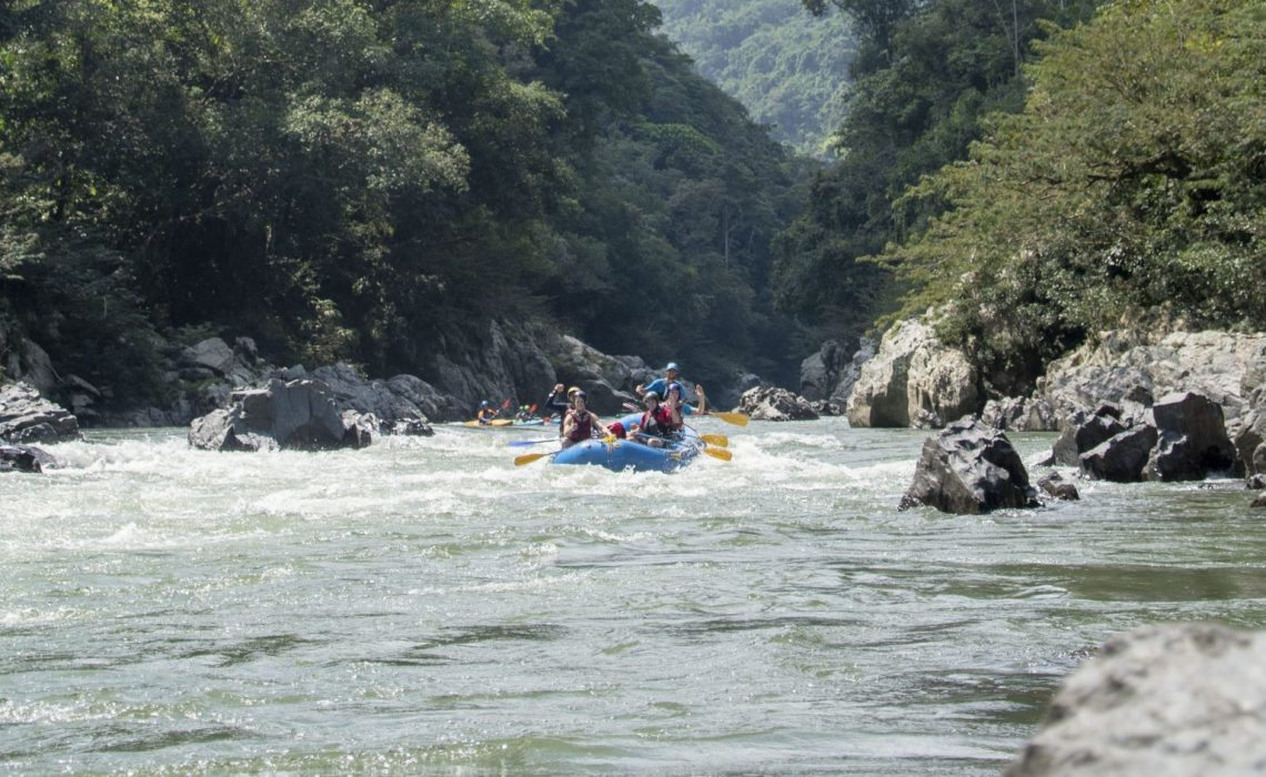 rafting river whitewater