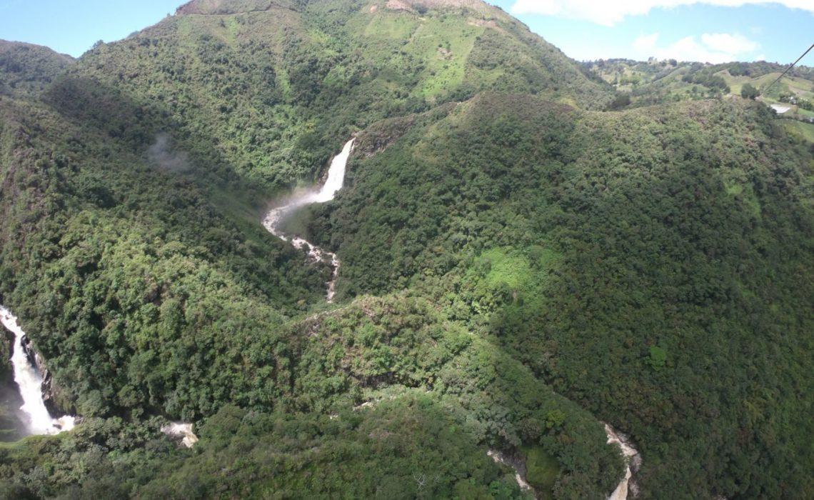 rio buey waterfall