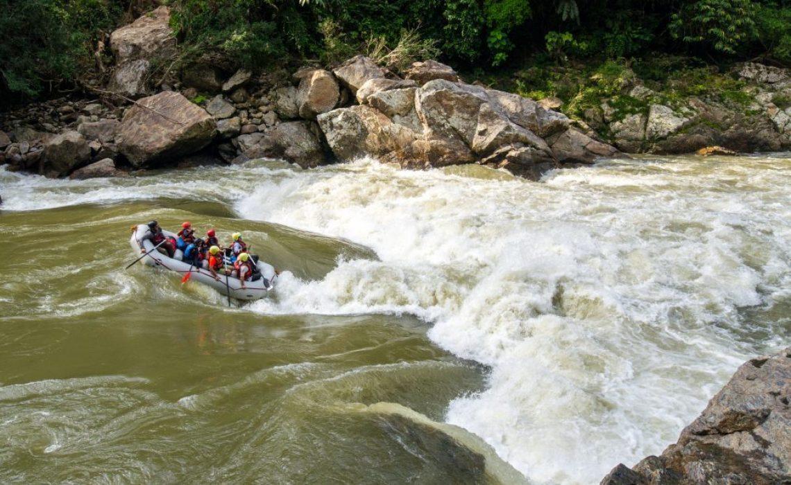 rio samana rafting rapids