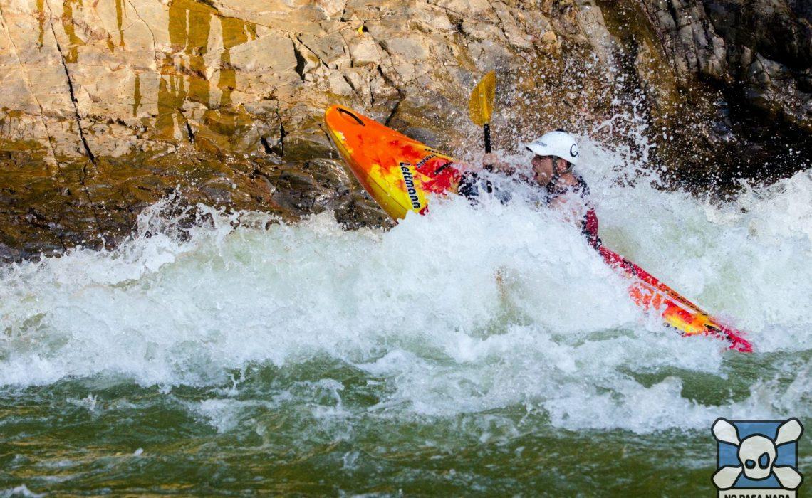 kayak rapids rocks colombia