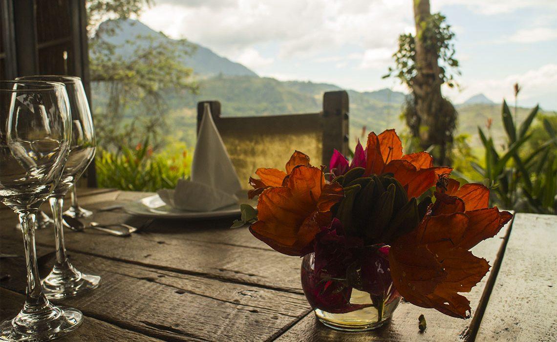 gourmet food table luxury