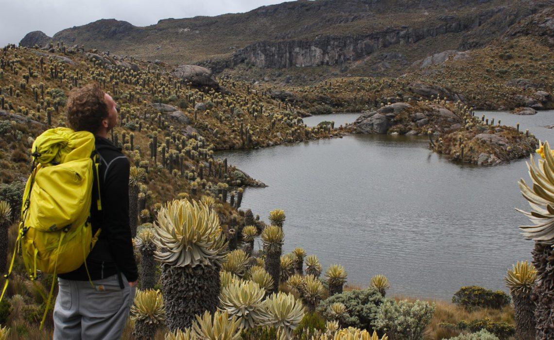 paramo colombia trek hike
