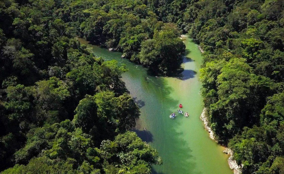 rio verde and caldera confluence to rio samana