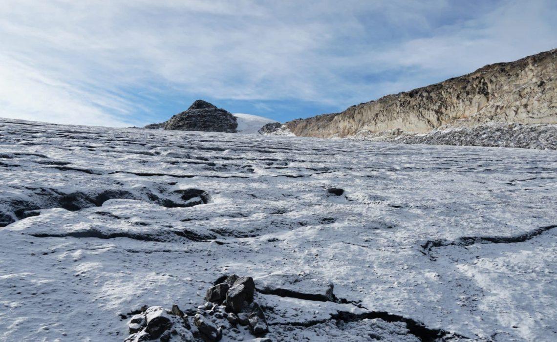 glacier los nevados santa isabel