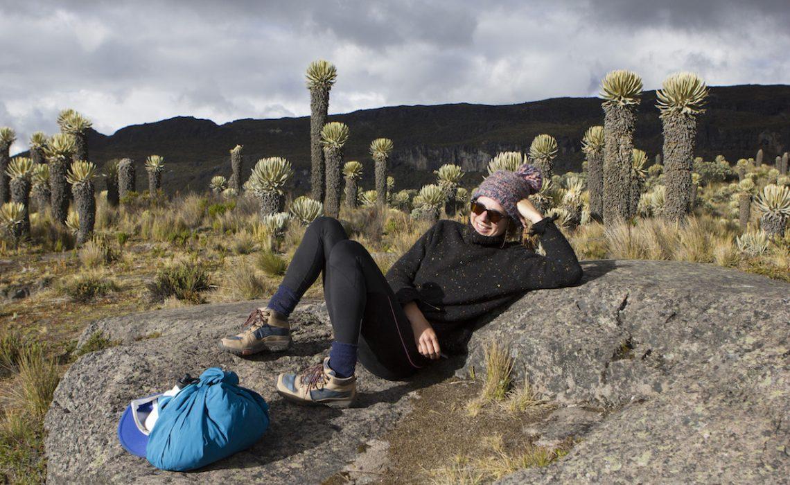 paramo relax lady trek
