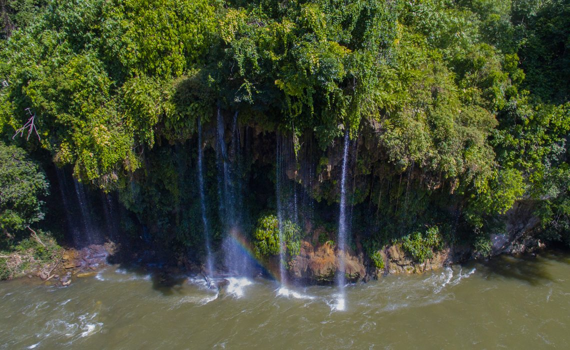 narices waterfall antioquia colombia