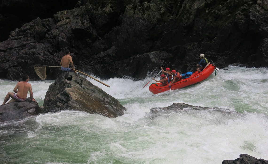 rafting river colombia