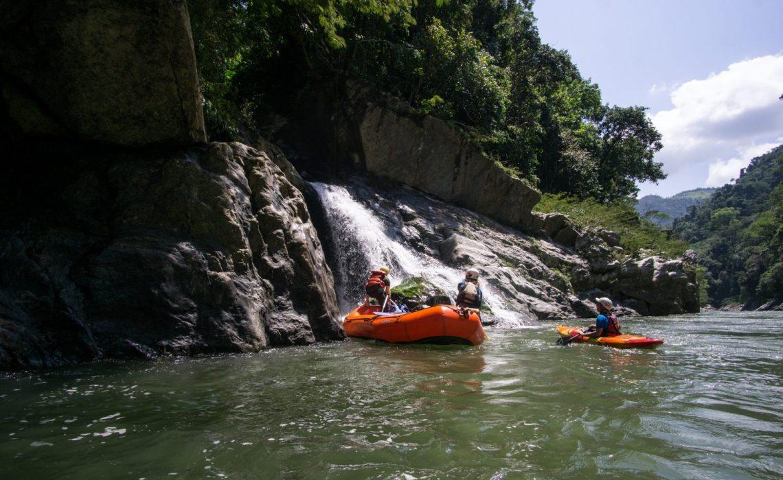 waterfall rio samana