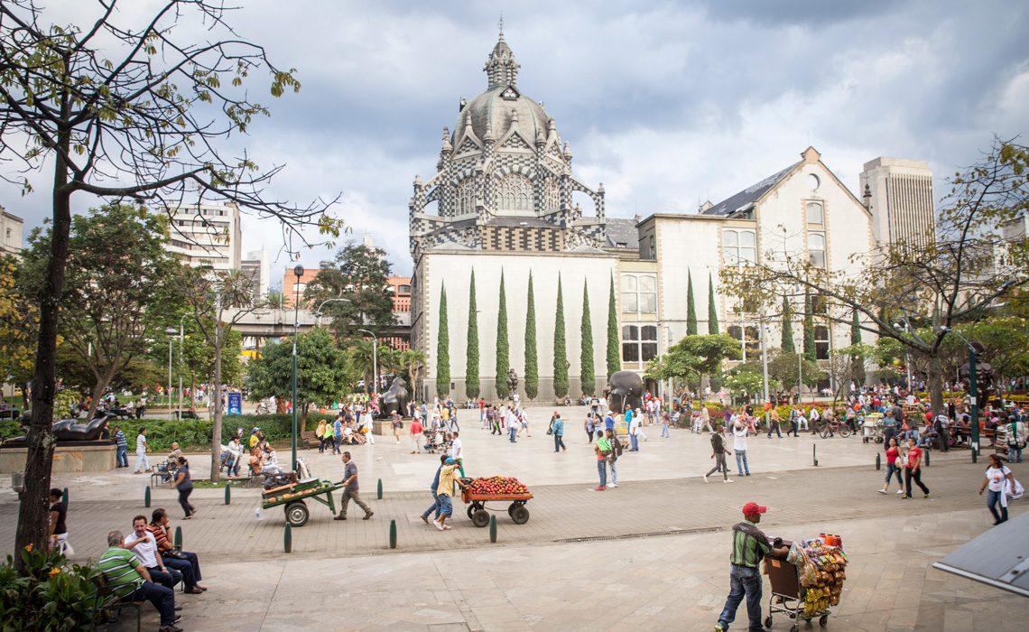 city center medellin colombia