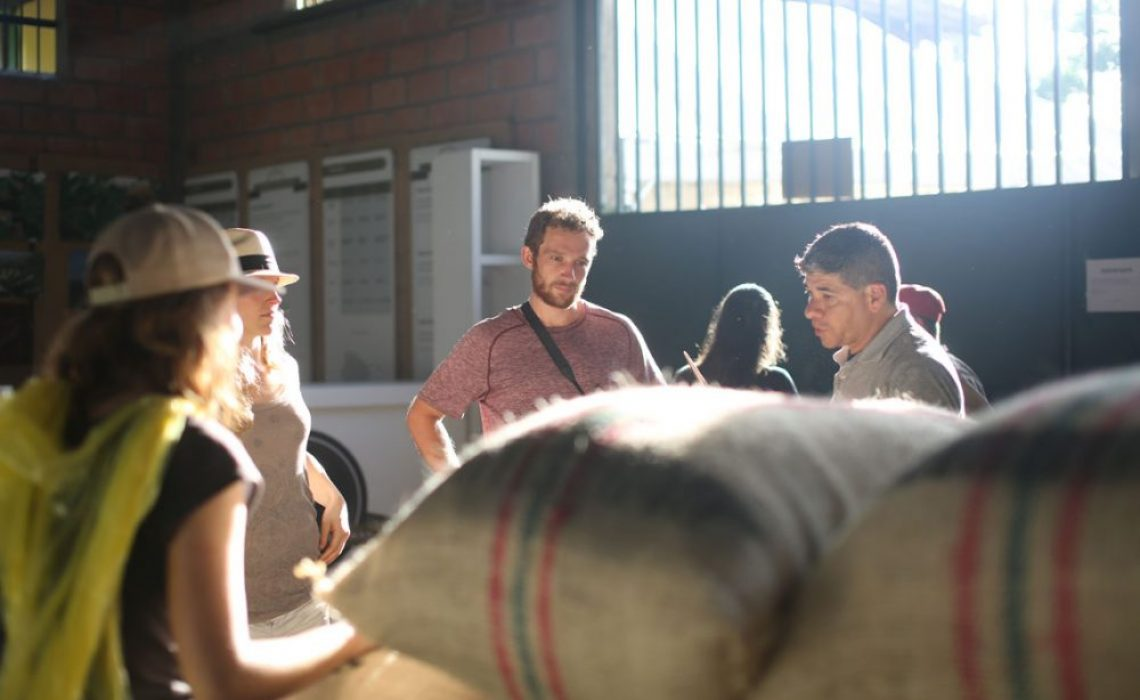 coffee farm processing