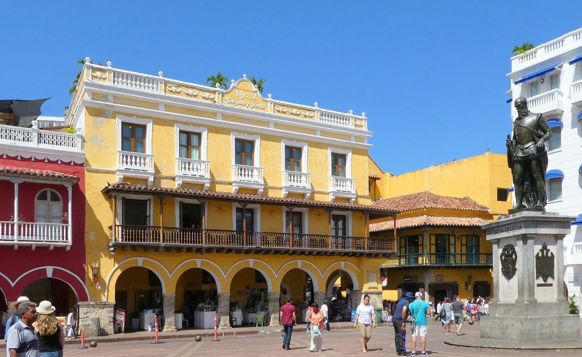 cartagena colonial architecture colombia
