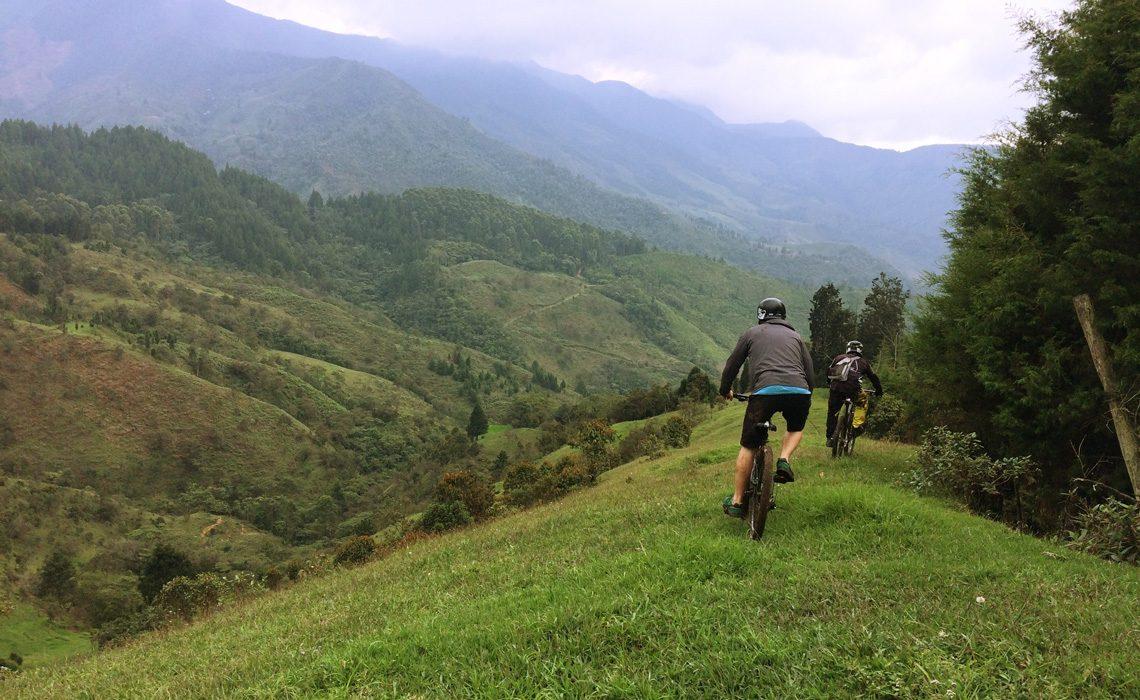 mountain biking colombia