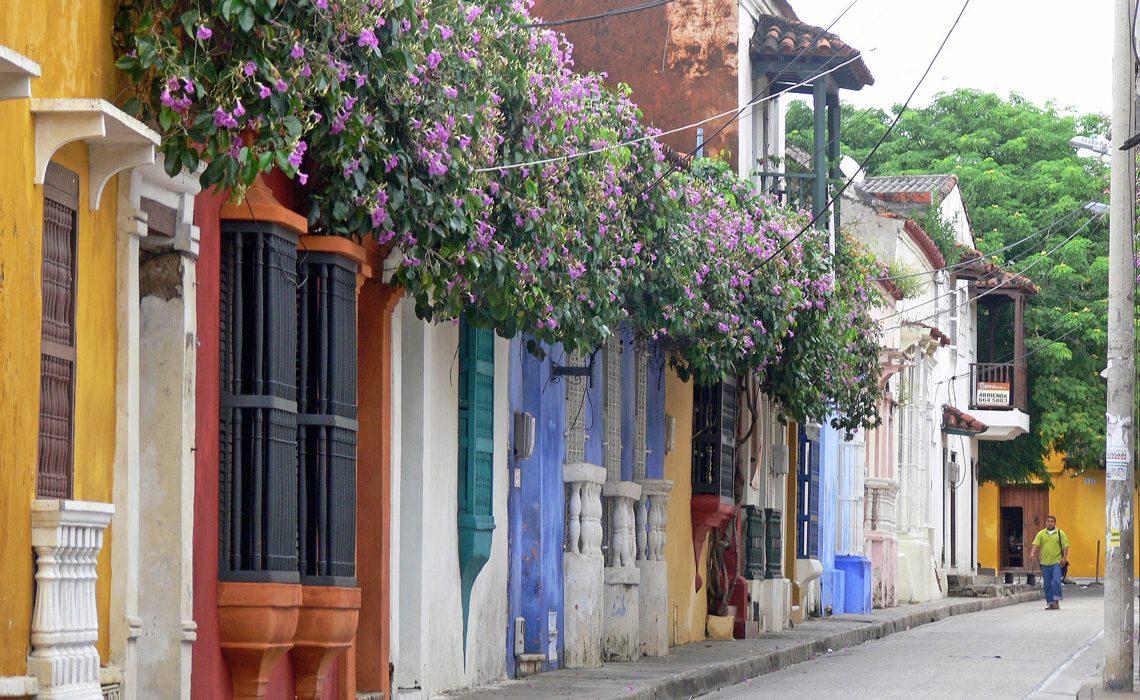 cartagena street colombia