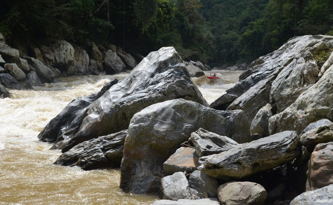 river rock colombia