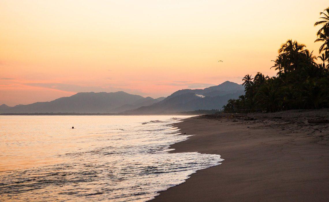 Beach near tayrona