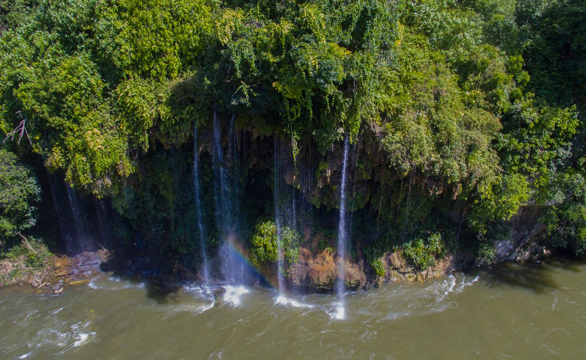narices waterfalls colombia